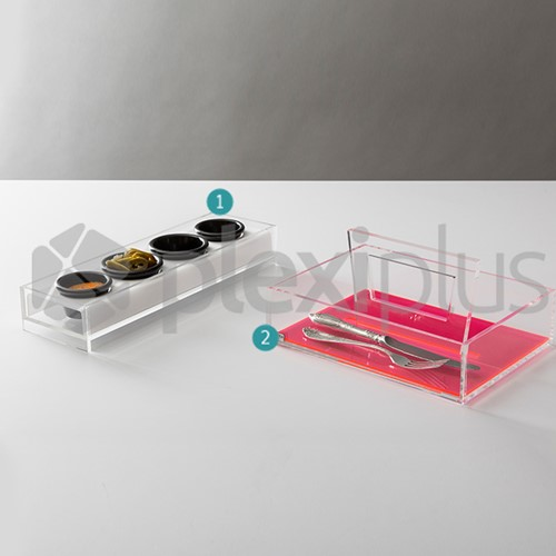 Condiment & Cutlery holder SPECTRA