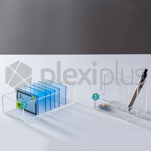 Business Card & Pencil Holder